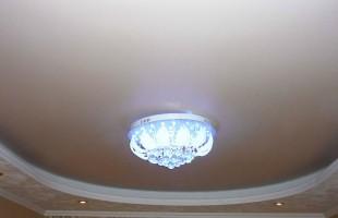 белый матовый натяжной потолок в балашихе(2)