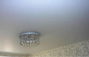 белый матовый натяжной потолок в балашихе(7)