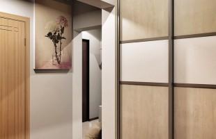 Дизайн проект трехкомнатной квартиры 70 кв.м.14