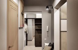 Дизайн проект трехкомнатной квартиры 70 кв.м.13