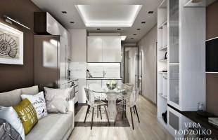 Дизайн-проект двухкомнатной квартиры4