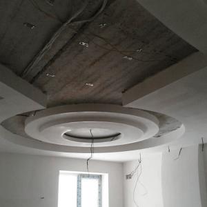 фигурные потолки из гипсокартона в Балашихе