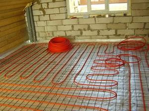 Монтаж водяного и электрического тёплого пола в Балашихе