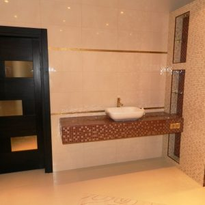 ремонт ванной комнаты и санузла в коттедже в Долгопрудном