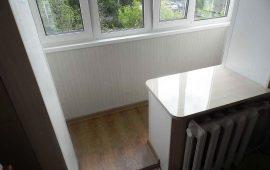 объединение балкона с кухней и комнатой в Балашихе (3)