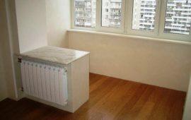 объединение балкона с кухней и комнатой в Балашихе (2)