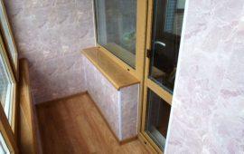 Остекление балконов в Балашихе (3)