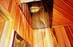 монтаж душевого поддона под стеклом в Балашихе(11)