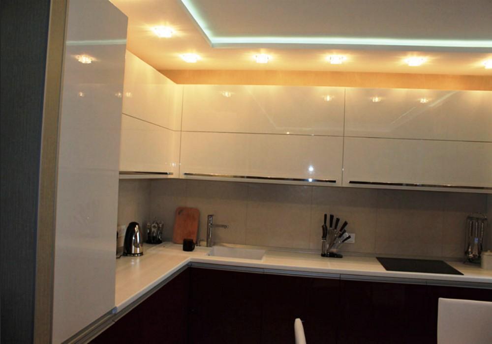 то, потолок на кухне с коробом фото курильского бобтейла может