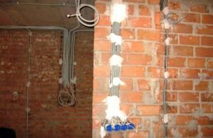 электромонтажные работы в новостройках в Балашихе