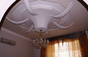 Многоуровневые потолки из гипсокартона в балашихе(9)