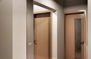 Дизайн проект трехкомнатной квартиры 70 кв.м.15