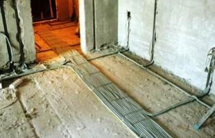 Разводка электрики в новостройке в Балашихе